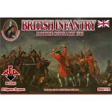 Британская пехота 1745 года. Восстание якобитов (RB72049) Масштаб:  1:72