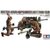 Британская пушка с боевым расчетом (TAM35005) Масштаб:  1:35