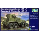 Бронеавтомобиль БА-3 (UM320) Масштаб:  1:72