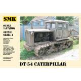 ДТ-54 советский трактор (SMK87201) Масштаб:  1:87