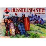 Фигурки Гуситских пехотинцев 15-го века (RB72039) Масштаб:  1:72