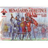 Фигурки воинов с оружием и кортеж. Война роз (RB72040) Масштаб:  1:72