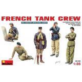 Французский танковый экипаж (MA35105) Масштаб:  1:35