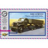 GMC CCW-353 с полуприцепом (PST72064) Масштаб:  1:72