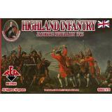 Горная пехота 1745 года. Восстание якобитов (RB72050) Масштаб:  1:72