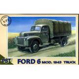 Грузовик Ford 6 модификации 1943г. (PST72051) Масштаб:  1:72