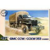Грузовик GMC CCW/CCKW 353 (PST72044) Масштаб:  1:72