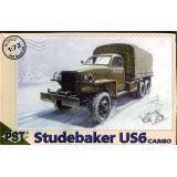 Грузовик Studebaker US6 (Студебекер, Вторая мировая война, США) (PST72022) Масштаб:  1:72