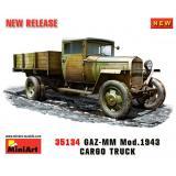 MA35134  GAZ-MM. Mod. 1943. Cargo Truck