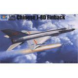 Китайский самолёт  J-8IID (TR02846) Масштаб:  1:48