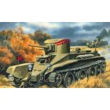 Колесно-гусеничный танк БТ-2 (UMT302) Масштаб:  1:72