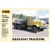 КрАЗ-6501 Седельный тягач (SMK87109) Масштаб:  1:87