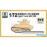 Легкий танк MK.VIB (2 модели в наборе) (SMOD-PS720019) Масштаб:  1:72