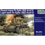 Легкий танк Pz.Kpfw 38(t) Ausf.G (UM341) Масштаб:  1:72