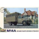 M14A (Ford 6 truck) workshop (PST72058) Масштаб:  1:72