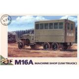 M16A (US 6 truck) workshop (PST72056) Масштаб:  1:72