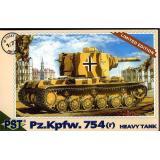 Масштабная модель немецкого тяжелого танка Pz.Kpfw 754 (r) (PST72037) Масштаб:  1:72