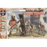 Medieval siege crew and handgunners (ORI72019) Масштаб:  1:72