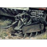 Минный трал для танков Т-55, Т-64, Т-80, Т-84. (MK502) Масштаб:  1:35
