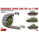 MA35146  Workable track link set for T-70M light tank