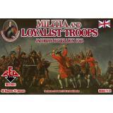 Народное ополчение и войска лоялистов 1745 года. Восстание якобитов (RB72051) Масштаб:  1:72
