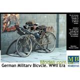 Немецкий военный велосипед Второй мировой войны (MB35165) Масштаб:  1:35