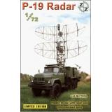 P-19 Soviet radar vehicle, plastic/resin/pe (ZZ72004) Масштаб:  1:72