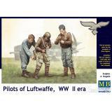 Пилоты в Люфтваффе, (набор 1) (MB3202) Масштаб:  1:35