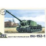 Пластиковая модель самоходной артиллерийской установки ИСУ-152-1 (PST72007) Масштаб:  1:72