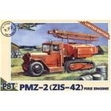 PMZ-2(ZiS-42) fire-engine (PST72048) Масштаб:  1:72