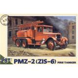 PMZ-2(ZiS-6) fire-engine (PST72047) Масштаб:  1:72