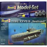 Подарочный набор с подводной лодкой Type XXVIIB