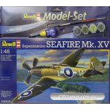 Подарочный набор с самолетом Seafire Mk. XV (RV64835) Масштаб:  1:48