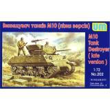 САУ M10 (поздняя версия) (UM202) Масштаб:  1:72
