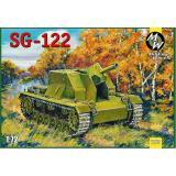 САУ SG-122 (MW7253) Масштаб:  1:72