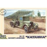 Сборная модель Катюша М-13 (PST72018) Масштаб:  1:72