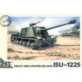 Сборная модель самоходной артиллерийской установки ИСУ-122С (PST72006) Масштаб:  1:72