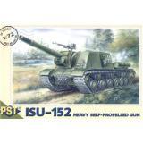 Сборная модель самоходной артиллерийской установки ИСУ-152 (PST72004) Масштаб:  1:72