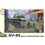 Сборная модель советского тяжёлого огнемётного танка КВ-8С (PST72026) Масштаб:  1:72