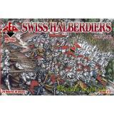 Швейцарские алебардщики, 16 век (RB72062) Масштаб:  1:72