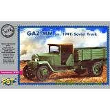 Советский грузовой автомобиль ГАЗ-MM (1941) (PST72077) Масштаб:  1:72