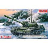 MK225 T-55AK Soviet commander tank