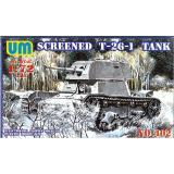 Советский легкий танк Т-26-1E (UMT402) Масштаб:  1:72