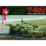 Советский основной боевой танк T-80U (XAST-XS35001) Масштаб:  1:35
