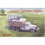 Soviet launch command station (ZZ87022) Масштаб:  1:87