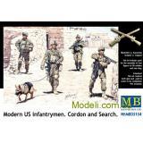 Современные пехотинцы США (MB35154) Масштаб:  1:35