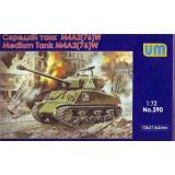 Средний танк M4A2 (76) W (UM390) Масштаб:  1:72