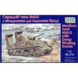 Средний танк M4А3 с оборудованием для преодоления брода (UM216) Масштаб:  1:72