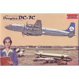 RN302  Douglas DC-7C KLM Royal Dutch Airlines