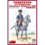 MA16033  Trumpeter. 1st Westphalian Cuirassiers Regiment 1813